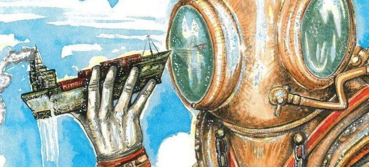 Surrealismo e o Realismo andam paralelamente em um graphic novel que promete ser sucesso